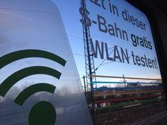 Endlich mal eine S-Bahn mit WLAN erwischt. Etwas langsam, aber es funktioniert ...#Stuttgart
