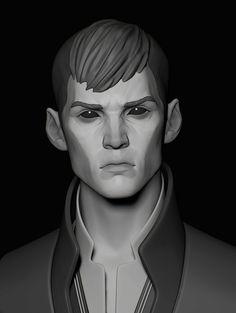 ArtStation - The Outsider / Speedsculpt / Dishonored, Assel Kozyreva