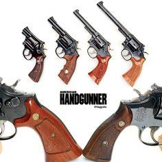 S&W's Masterpieces | Smith & Wesson Combat Masterpiece Model 15, Combat…