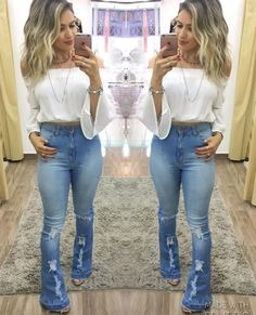 Womens Outfits With Jeans Casual Looks Boots 15 Ideas For 2019 Sexy Outfits, Fall Outfits, Casual Outfits, Cute Outfits, Fashion Outfits, Jeans For Tall Women, Love Fashion, Womens Fashion, Country Fashion
