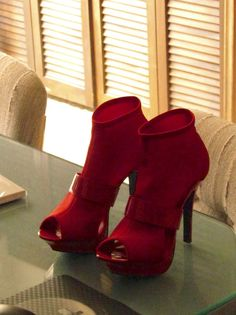 Cool #Red #Shoes