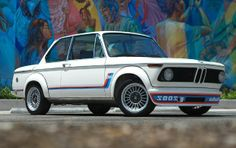 1974 BMW 2002 Turbo. Sold @ auction $66,000. Pebble Beach 2013.
