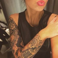 Perfection.  Follow my 2nd tattoo page: @inkspiringtattoos @inkspiringtattoos! #tattooinkspiration