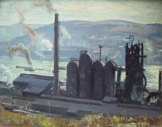 steel mill in Braddock PA interior - Google Search