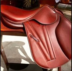 Butet Flat Seat Premium Saddle with Integrated Panels Horse Saddles, Horse Tack, Jumping Saddle, Show Jumping, Leather Craft, Equestrian, Leather Backpack, Calves, Flats