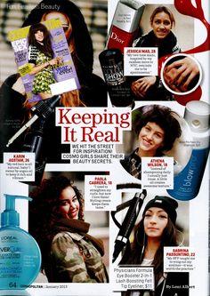Cosmopolitan January 2013 - Eye Booster 2-in-1 Lash Boosting Felt-Tip Eyeliner + Serum