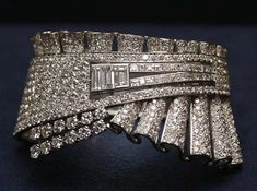 This expensive bracelet was created by Oscar De La Renta, Randolph Duke and Kevan Hall. This bracelet is cover with million of diamond with its unique shape. This Diamond  bracelet make a bold statement for fashion.