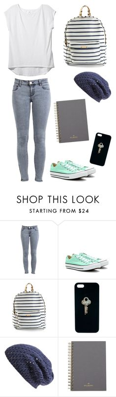 """""""Untitled #23"""" by ibeliev3 ❤ liked on Polyvore featuring Z Supply, Converse, Sophie Hulme, The Giving Keys, Nordstrom and Mulberry"""