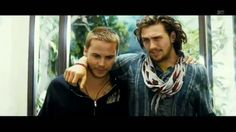 Chon & Ben from Savages <3  (Taylor Kitsch & Aaron Johnson)