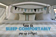 Sleep Comfortably in Your Pop Up Camper