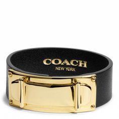 Coach Leather Bracelet, very pretty!!