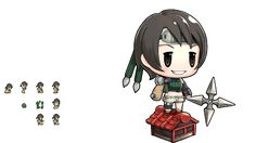Yuffie Kisaragi. I HAVE COME TO STEAL YOUR MATERIA!