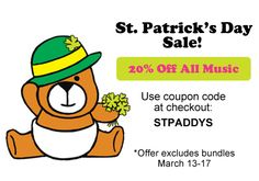 Happy St. Patrick's Day, everyone!   Don't forget to pick up a few RB tunes before our St. Paddy's Day sale ends today!! http://rocka.by/Blog4RB
