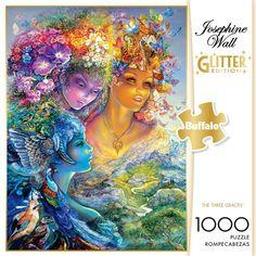 Josephine Wall, Daughter Of Zeus, Daughters, Imagination Art, Buffalo Games, Beautiful Fairies, Fantasy Illustration, Family Game Night, 1000 Piece Jigsaw Puzzles