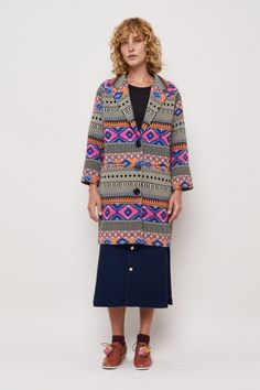 Technicolour Coat
