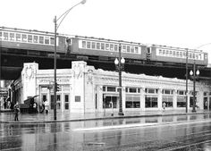 Uptown Chicago History: Wilson and Broadway, 1959