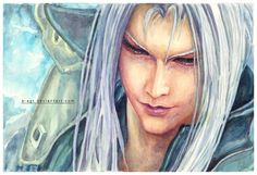 Sephiroth by *B-AGT - Final Fantasy VII