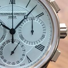 REPOST!!!  manufacture flyback chrono, novelty #frederiqueconstant #chronograph #flyback #manufacture #lesambassadeurs #lesambassadeurslucerne #watch #swiss  Photo Credit: Instagram ID @ambswissmade