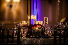 Candlelight wedding reception centerpieces. Beautifully done. #wedding #ideas #reception