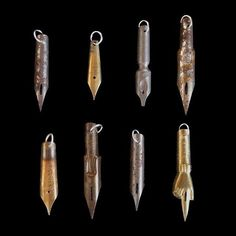 Antique Pen Nib Pendant