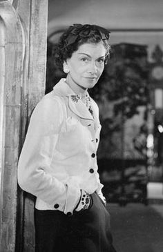 """""""I don't care what you think about me. I don't think about you at all."""" Coco Chanel, 1937"""