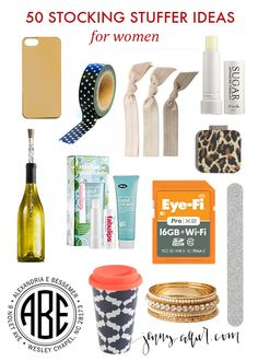 50 stocking stuffer ideas for women