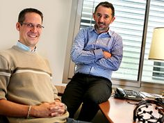 Yann Renard et Jean-Yves Quentel, Mensia Technologies