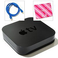 Apple TV Wi-Fi Ready Digital Streaming Content Player Bundle w/ $15 iTunes Gift Card & HDMI Cable ShopNBC.com  #shopnbcFavorites