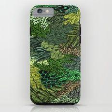 Leaf Cluster Tough Case iPhone 6
