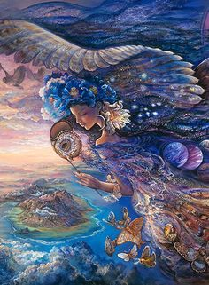 Official website for inspirational publisher Blue Angel Publishing Josephine Wall, Celtic Dragon, Celtic Art, Fairy Coloring, Coloring Books, Islamic Art Calligraphy, Calligraphy Alphabet, Fairy Original, Tarot