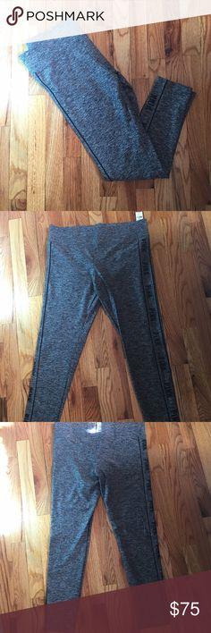 NWT VS PINK Ultimate Yoga Leggings Gray L NWT VS PINK ultimate yoga leggings. Gray. Size large. PINK Victoria's Secret Pants Leggings