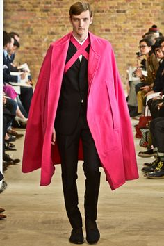 Menswear Fashion Week - i would totally marry this guy