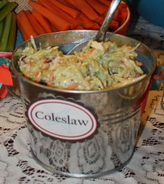 Bucket of Coleslaw
