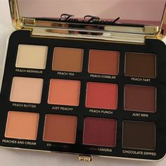 Too Faced Just Peachy Mattes Palette Photos are Finally Here | Allure
