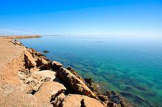 Dakhla Cliffs | Western Sahara (by Яachel caЯbonell)