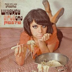 Various - Whiskey, Girls And Pasta (Vinyl, LP) cheesecake album covers Lp Cover, Vinyl Cover, Cover Art, Bad Album, Album Book, Easy Listening, Kitsch, Worst Album Covers, Whiskey Girl