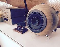 About IKEA salad bowls and loudspeakers.   Kvart & Bølge   Audiophile Quarter-Wave Full-Range Speakers  