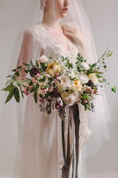 Petal and Print bouquet, Garnish Boutique dress, Photography : Juniper Fine Art juniperfineart.com