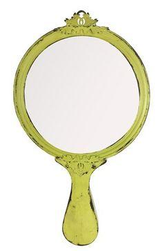 A Loja do Gato Preto | Espelho de Parede Amarelo @ Espejo de Pared Amarillo #alojadogatopreto