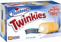 Twinkies Are Back! I bought some today, there's hope for America!