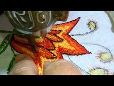 Almohadon de hilvanes |Creaciones y manualidades angeles - YouTube