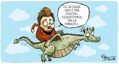 Dilma Voando com a Inflação