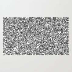 Imaginary World Rug by Olly Gibbs - $28.00
