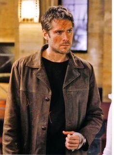 Alexis Denisof as Wesley Wyndam-Price on Buffy & Angel