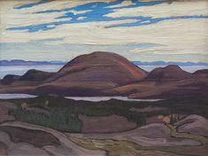 Lawren Harris - Pic Island x Oil on panel Tom Thomson, Group Of Seven, Lake Superior, North Shore, Fine Art Gallery, Mona Lisa, Oil, Island, Landscape
