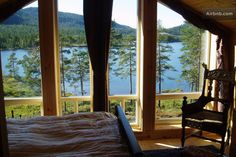 Upstairs master bedroom - what a view to wake up to !