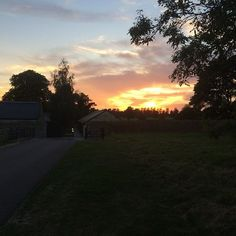 7:30pm Sunset at The Cowyards, September 8th 2014