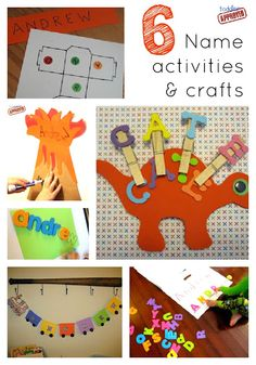 Toddler Approved!: 6 Name Activities and crafts