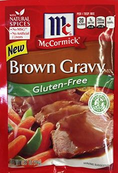 McCormick BROWN GRAVY Mix GLUTEN FREE .88oz (12 Packets) McCormick http://www.amazon.com/dp/B00M3GUFKO/ref=cm_sw_r_pi_dp_Kc-awb1M2M9Q8