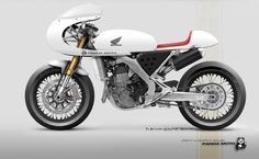 A Honda CRF450 Cafe-Racer? Sure We Have One!